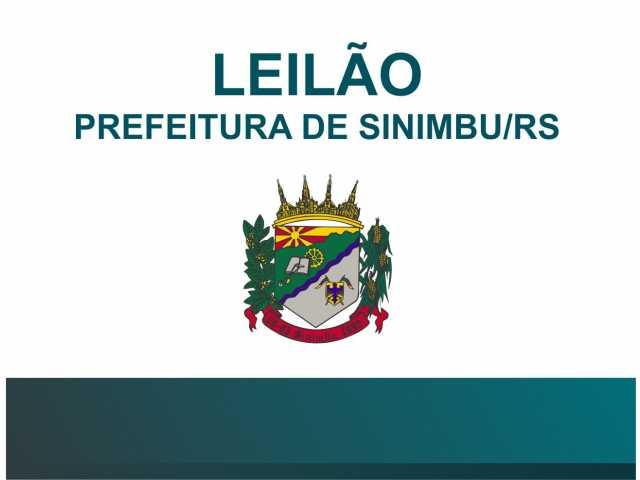 LEILÃO DA PREFEITURA MUNICIPAL DE SINIMBU – RS