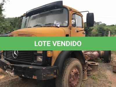 LOTE 007 - Caminhão Mercedes Benz Caminhão 2219