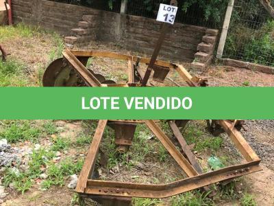LOTE 013 - Equipamento Agrícola Grade Hidráulica (disco boldan) 24 lâminas